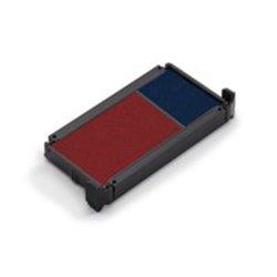 Cassette d'encrage bicolore pour Trodat 5030, 5200, 5430, 5431, 5435 et 5546