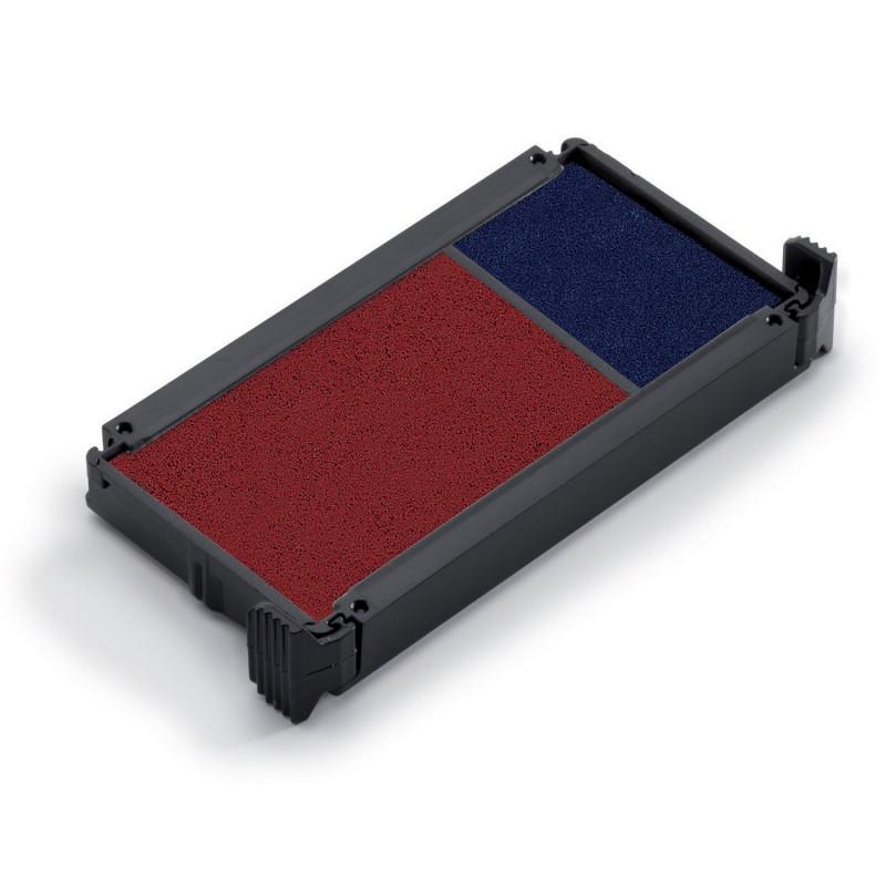 Cassette d'encrage bicolore pour Trodat 4912 et 4952