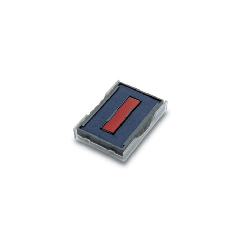 Cassette d'encrage bicolore pour Trodat 4727, 4927, 4957