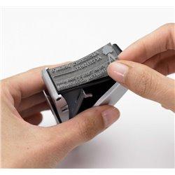 Matrice lignes de texte et logo pour Colop Printer R50